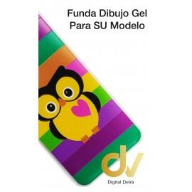 Mate 20 Lite Huawei Funda Dibujo 3D Buho