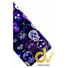 Mate 20 Lite Huawei Funda Dibujo 3D Mandala Azul