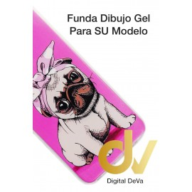 Mate 20 Lite Huawei Funda Dibujo 3D Perro