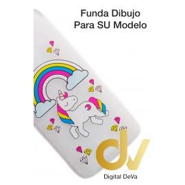 Mate 20 Lite Huawei Funda Dibujo 3D Unicornio