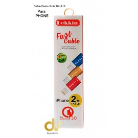 Cable Datos 2mts iPhone DK-A13