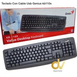 Teclado Con Cable Usb Genius Kb110x