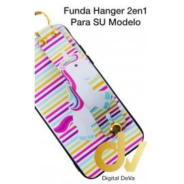 iPhone XR Funda Hanger 2 en 1 UNICORNIO