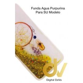 iPhone X / XS Funda Agua Purpurina ATRAPA SUEÑOS