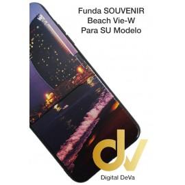 iPhone X / XS Funda Souvenir 5D BEACH Vie-W