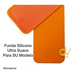 "iPhone 12 Mini (5.4"") Funda Ultra Suave Mandarina"