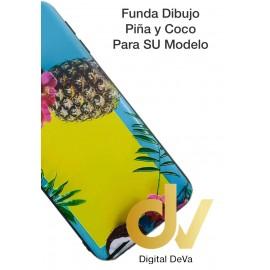 iPhone X / XS Funda Dibujo 5D PIÑA & COCO