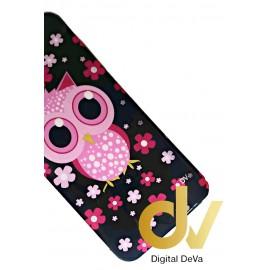 iPhone 7 Plus / 8 Plus Funda Dibujo BUHO ROSA