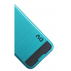 iPhone 7G / 8G Funda Antigolpe PVC Azul Turques