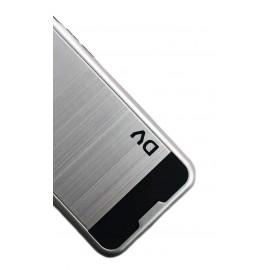 iPhone 7G / 8G Funda Antigolpe PVC PLATA