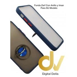 iPhone 12 Mini 5.4 Funda Zerf Con Anillo E Iman Azul