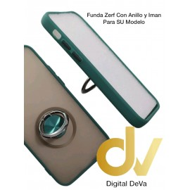 iPhone 12 5.4 Funda Zerf Con Anillo E Iman Verde