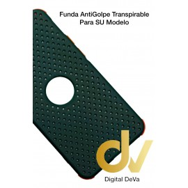 iPhone 12 Pro Funda Antigolpe Transpirable Verde Militar