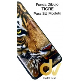 A53S Oppo Funda Dibujo Flex Tigre