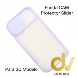 iPhone 12 6.1 Funda CAM Protector Slider Lila