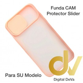 iPhone 12 6.1 Funda CAM Protector Slider Rosa
