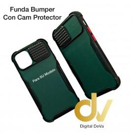 iPhone 12 6.1 Funda Bumper Con Cam Protector Verde