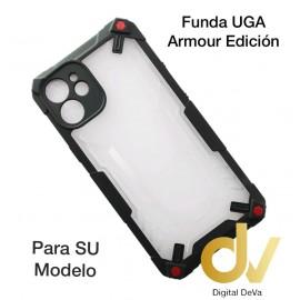 iPhone 12 6.1 Funda UGA Armour Edicion Negro