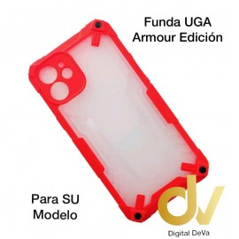 iPhone 12 Pro Max 6.7  Funda UGA Armour Edicion Rojo