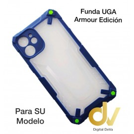iPhone 12 Pro Max 6.7  Funda UGA Armour Edicion Azul
