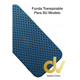 A02S Samsung Funda Transpirable Azul