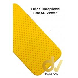 A12 5G Samsung Funda Transpirable Amarillo