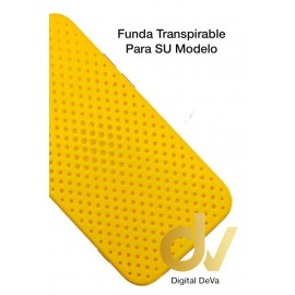 iPhone 12 Pro Funda Transpirable Amarillo