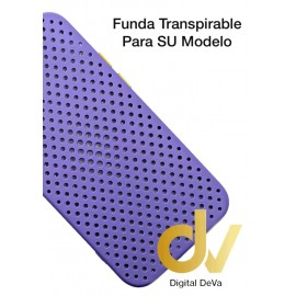 iPhone 12 Pro Funda Transpirable Lavanda