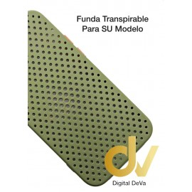 iPhone 12 Pro Funda Transpirable Verde