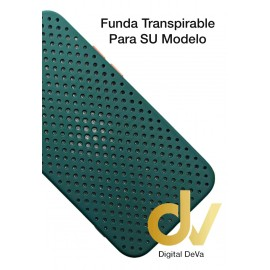 iPhone 12 Pro Funda Transpirable Verde Militar