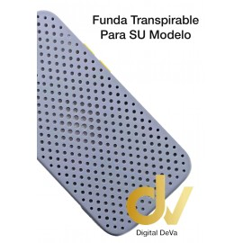 iPhone 12 Pro Funda Transpirable Gris