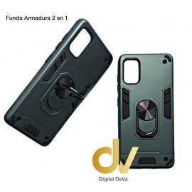 A21S Samsung Funda Armadura 2 En 1 Verde