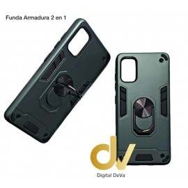 iPhone 12 5.4  Funda Armadura 2 En 1 Verde
