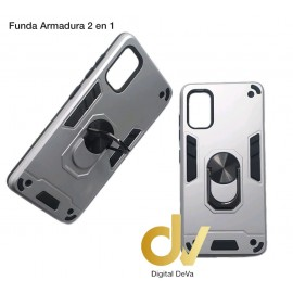 iPhone 11 Pro Max Funda Armadura 2 En 1 Plata