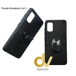 A73 / F17 Oppo Funda Armadura 2 En 1 Negro