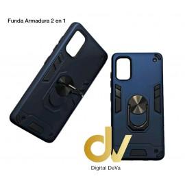 A73 / F17 Oppo Funda Armadura 2 En 1 Azul