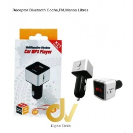 Receptor Bluetooth Coche FM, Manos Libres