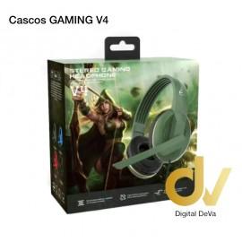 Cascos GAMING V4 Negro