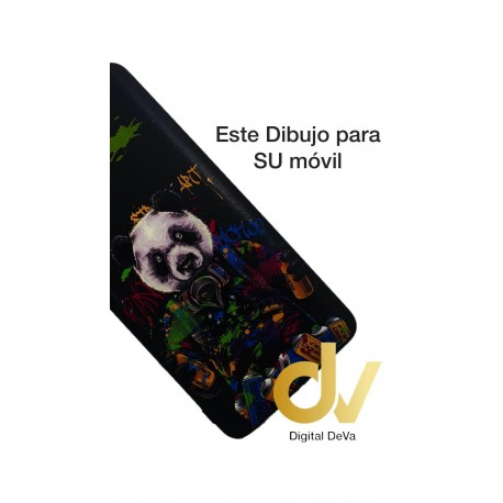 A9 2020 Oppo Funda Dibujo 5D Oso Panda