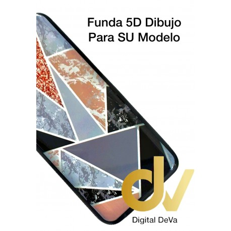 A91 Oppo Funda Dibujo 5D Texturas