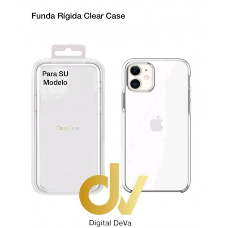iPhone XS Max Funda Rigida Clear Case