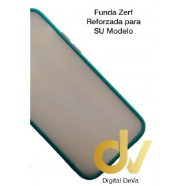 iPhone 12 / 12 Pro 6.1 Funda AntiGolpe Mate Verde Militar