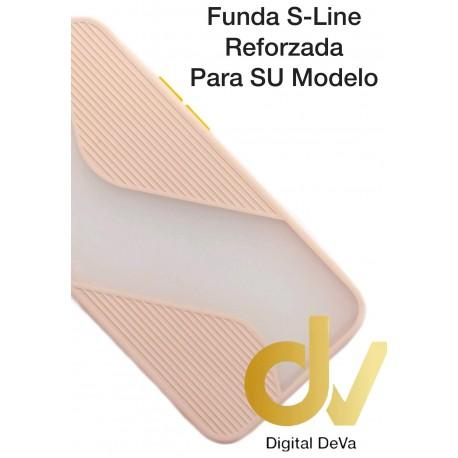 iPhone 12 5.4 Funda S-Line Reforzada Rosa