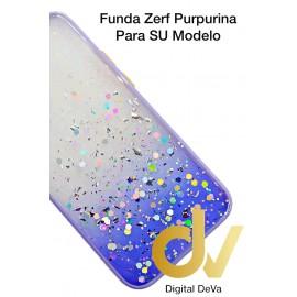 iPhone 12 Mini 5.4 Funda Zerf Purpurina Lila