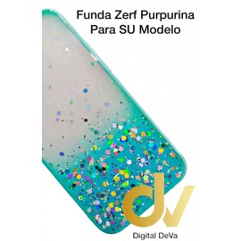 iPhone 12 Pro 6.1 Funda Zerf Purpurina Azul Turques