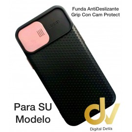 iPhone 12 Pro 6.1 Funda AntiDeslizante Grip Con Cam Protect Rosa