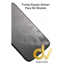 iPhone 12 Pro Max Funda Serkan Espejo Plata