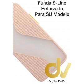 A20S Samsung Funda S-Line Reforzada Rosa