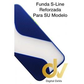 A20S Samsung Funda S-Line Reforzada Azul