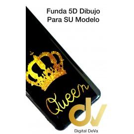 A73 / F17 Oppo Funda Dibujo 5D Queen
